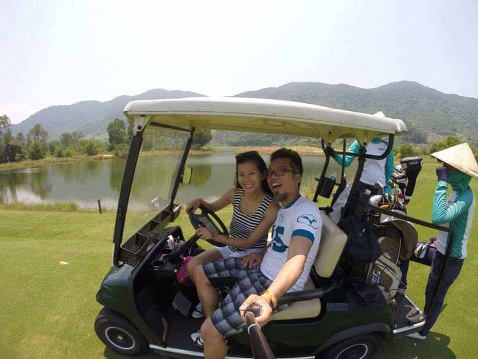 18 hole Golfing in Vietnam