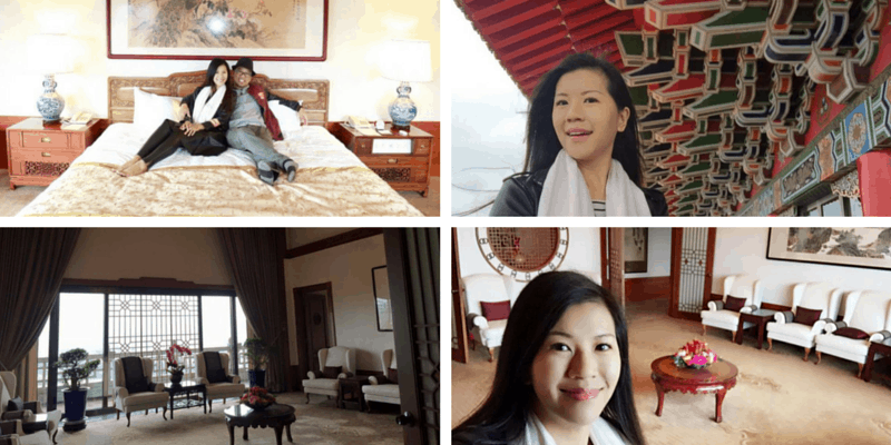 Taiwan Grand Hotel Presidential Suite Millie Leung