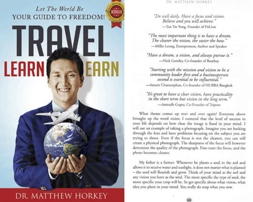 Travel Learn Earn Dr Matthew Horkey Millie Leung
