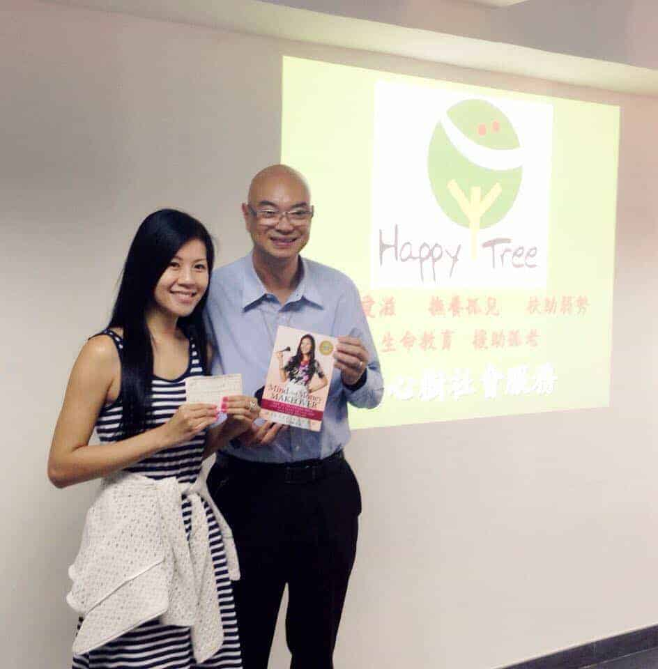 Giving back with Millie Leung